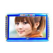 小霸王 视频播放器S16 9英寸高清视屏视频机全格式看唱戏外置机4000毫安更换电池 蓝色 标配