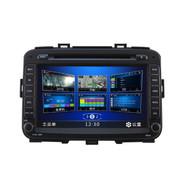 四方游 【】起亚汽车GPS车载dvd导航一体机固定 新佳乐 导航+倒车摄像头+行车记录仪