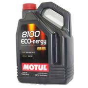 摩特(MOTUL) 8100 全合成机油 汽车润滑油 ECO-NERGY 5W30