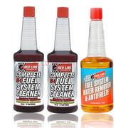 红线 美国REDLINESI-1汽油添加剂 燃油添加剂汽车积碳清洗剂燃油宝 1瓶除水剂+两瓶SI-1
