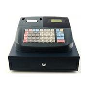 SISS 会员管理积分兑换储值拼音简码U盘导入上传 带钱箱一体BX-1500 灰