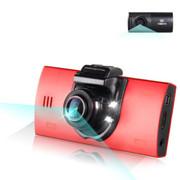 车之秀品 中国电子(CEC)车载行车记录仪高清广角夜视双镜头迷你合金加强版 C21 红色 双镜头