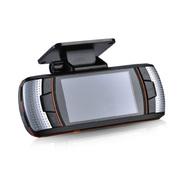 动牌 行车记录仪双镜头1080P高清夜视汽车车载前后超广角一体机 单镜头+16G卡