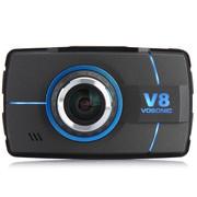 录不平 台湾 群华行车记录仪V8 超大广角170度 1080P高清夜视 标配