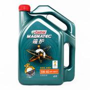 嘉实多 磁护 5W40合成汽车机油 润滑油SN级 4L装