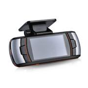 动牌 行车记录仪双镜头1080P高清夜视汽车车载前后超广角一体机 单镜头+8G卡