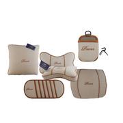 品尚车居 PS系列精品套装 抱枕 腰靠 太空棉护颈枕 挡阳板CD袋 手机风口置物袋