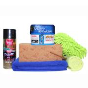 威臣(Willson) 3个月镀膜蜡配毛巾海绵手套表板蜡组合 浅色车漆专用套装
