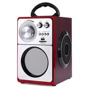 SENBOWE 便携式手提插卡音箱老人户外广场舞音响移动充电低音炮FM收音机