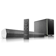 奇声 qisheng/mav-2323B电视音响回音壁带USB接口家庭影院蓝牙壁挂 升级版
