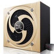 游戏伙伴 额定功率600W HB600S电源(主动式PFC/85%效率/超静音/支持背线)