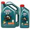 嘉实多 Castrol机油 汽车机油 SN级 磁护5W-40 合成机油 4L+1L产品图片1