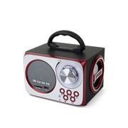 SENBOWE 便携式插卡音箱 手提充电迷你MP3音响低音炮音乐播放器 FM收音机