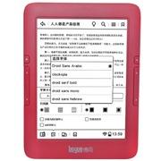 博阅 T61 电子阅读器 6英寸智能安卓双核电纸书 EINK电子墨水屏阅览器 带WIFI背光触控电子书  红色