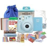 富士 趣奇(checky)instax mini8相机 (蓝色)特惠套餐