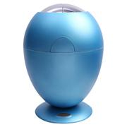 美创 智能感应垃圾桶欧式时尚创意客厅家用翻盖免脚踏环保垃圾桶 浅蓝色