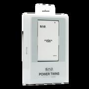 玩加 移动电源/充电宝 Power Twins 能量双星 12000毫安(mAh) 钢琴白