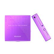 酷博 趣玩 艾芭莎迷你化妆盒移动电源通用款 送女友/闺蜜/朋友 礼物 紫色