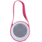 威尼徕 VELOUR电脑蓝牙音箱防水闹钟低音炮无线音响 粉色