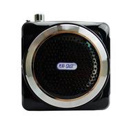 金正 小蜜蜂扩音器K3 便携式插卡音箱MP3播放器老年人外放收音机音响 黑色