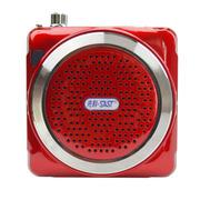 金正 小蜜蜂扩音器K3 便携式插卡音箱MP3播放器老年人外放收音机音响 红色