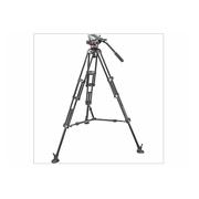 曼富图 Manfrotto//MVH502A云台+546BK-1三脚架云台套装/摄像云台