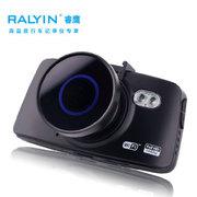 睿鹰 RY99行车记录仪1200万像素智能wifi操控高清1080P停车监控170°超大广角 黑色
