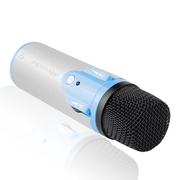 酷道 K2手机唱吧麦克风 电脑K歌YY抢麦专用电容麦克风 扩音录音设备 随身话筒 灰色