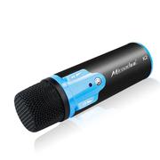 酷道 K2手机唱吧麦克风 电脑K歌YY抢麦专用电容麦克风 扩音录音设备 随身话筒 黑色