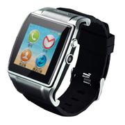 美创 智能蓝牙手表手机手环高清触屏式 适用于苹果iphone6 plus/5S 银色