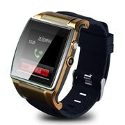 美创 智能蓝牙手表手机手环高清触屏式 适用于苹果iphone6 plus/5S 金色