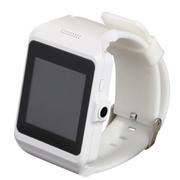 美创 智能蓝牙手表手环手机高清触屏轻松拍照 适用于苹果iphone6 plus/5S 白色