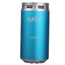 MIG PI-111U2BE 可乐罐造型逆变器12v转220v 车载逆变器 100W爱情蓝产品图片主图