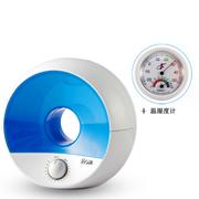哥尔 GO-2818 家用办公室 负离子净化 空气加湿器 静音 蓝色+温湿度计