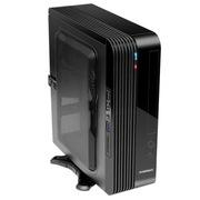GAMEMAX 小灵越ITX迷你机箱电源套装  U3/读卡器 黑色(仅支持ITX主板/标配200W 1U电源)