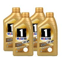 美孚 正品汽车机油 金一号 1号全合成机油0W-40 1L 4瓶装产品图片主图