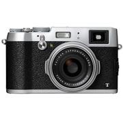 富士 X100T 数码旁轴相机 银色(1630万像素 3.0英寸屏 23mmF2定焦镜头 混合取景器 WiFi)