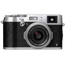 富士 X100T 数码旁轴相机 银色(1630万像素 3.0英寸屏 23mmF2定焦镜头 混合取景器 WiFi)产品图片主图
