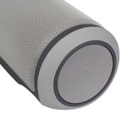 维尔晶 X6无线蓝牙音箱4.0NFC便携车载低音炮双喇叭2.0插卡音响 免提大功率户外骑行功 浅灰色