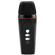 apphome 手机唱吧麦克风 电脑K歌YY抢麦专用电容麦克风 扩音录音设备 随身话筒 安卓版黑色