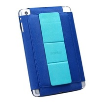 奇克摩克 支架式边框皮套保护套 适用于苹果iPad mini 蓝色产品图片主图
