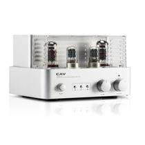 CAV 【货到付款】 T22胆机功放 发烧级电子管功放机 蓝牙无线HIFI大功率放大器 银色产品图片主图