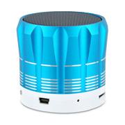 YEMEKE 台式机电脑音响 无线蓝牙音箱 便携式插卡小音箱 电脑音箱低音炮 蓝色