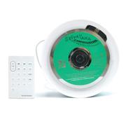 SENBOWE 壁挂音箱 时尚高端顺畅播放MP3 CD格式烧录光碟 支持FM功能 白色