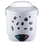 麦卓 Makejoy迷你电饭煲MJ-6610配不锈钢蒸盒恒温加热1升电热锅电煮锅学生用 MJ-6610黑色1升