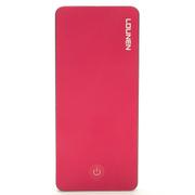 乐联 至尊LV6000锂离子聚合物充电宝iPhone  移动电源 定制版 玫瑰红定制版