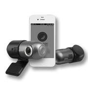 COWON AW2 无线WIFI 行车记录仪双镜头 全高清1080P  车载夜视 原装16G+16G卡+不间断线