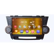 远行 丰田安卓大屏导航汉兰达专用汽车10英寸安卓智能车载GPS导航仪一体机 导航+倒车影像