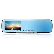 路特易 U580蓝玻镜面4.3寸高清屏1080p强夜视后视镜行车记录仪 录像仪