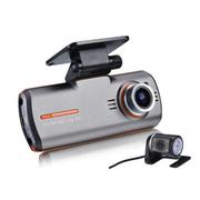 动牌 行车记录仪双镜头1080P高清夜视汽车车载前后超广角一体机 旗舰双镜头+8G卡